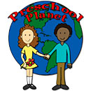 Preschool Planet Illustration